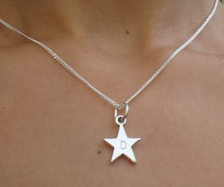 Collier en argent little star